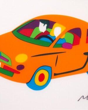 marco-lodola-fiat-500-arancione-fluo